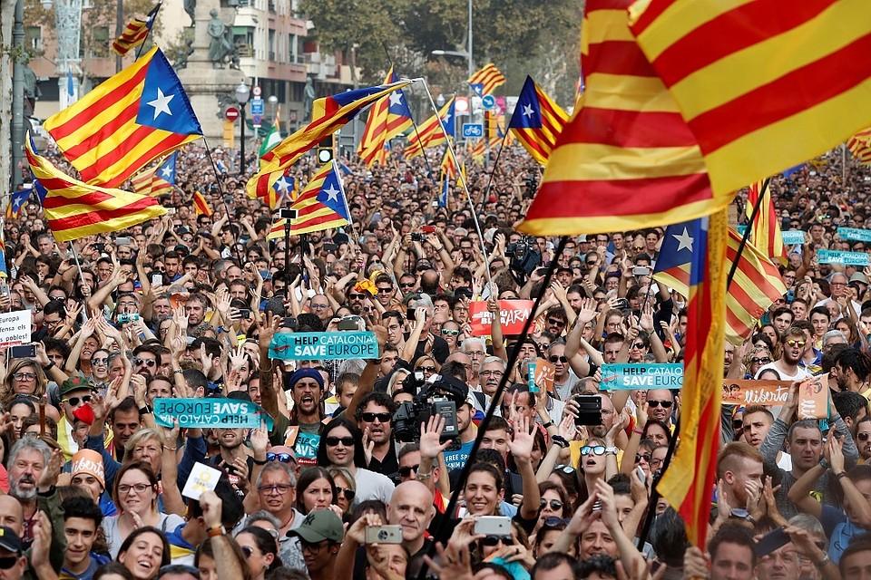 Новости изКаталонии ударили покурсу евро ииндексу Испании
