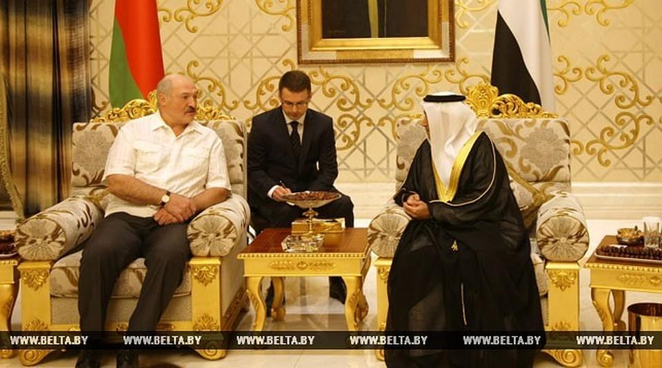Александр Лукашенко посещает срабочим визитом Объединенные Арабские Эмираты