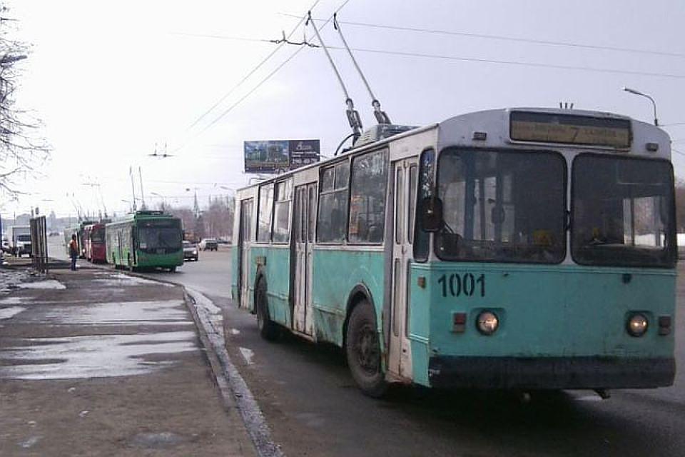 С12ноября троллейбусы Чебоксар перейдут нановый график работы