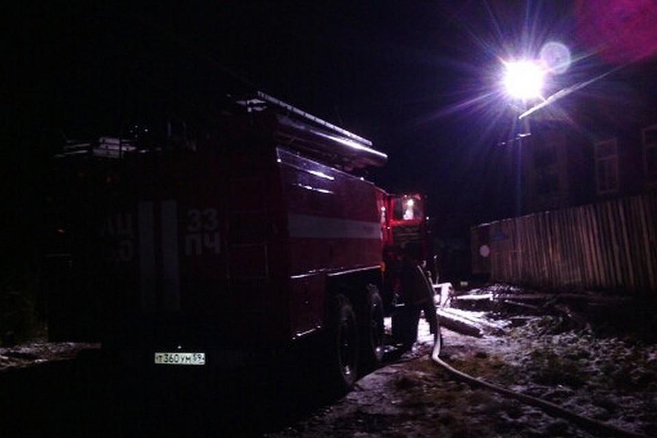 СКвозбудил дело пофакту смерти  людей впожаре  под Пермью