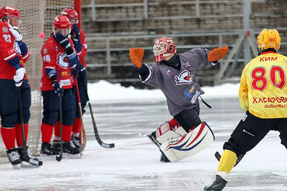 «Байкал-Энергия» обыграл «Родину» вматче чемпионата Российской Федерации похоккею смячом