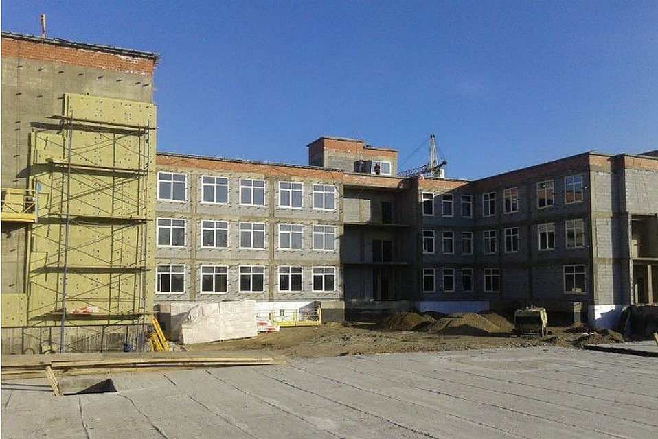 479 млн руб. выделено избюджетаРФ настроительство школы вАнгарске