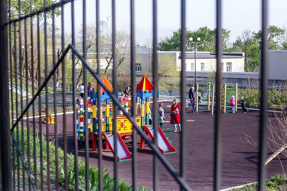 ВПриморье дети ушли всамоволку издетского сада
