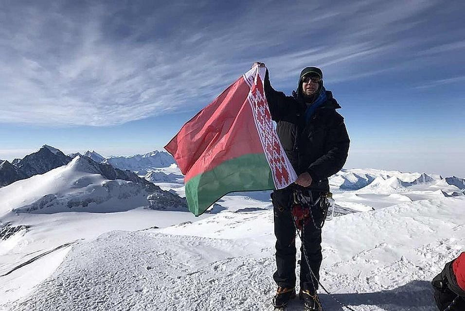 Белорус покорил самую высокую пирамиду Австралии иОкеании