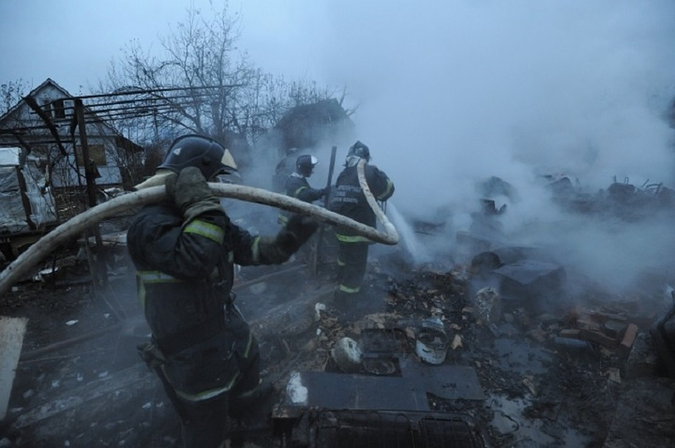 ВМоргаушском районе впожаре умер пенсионер