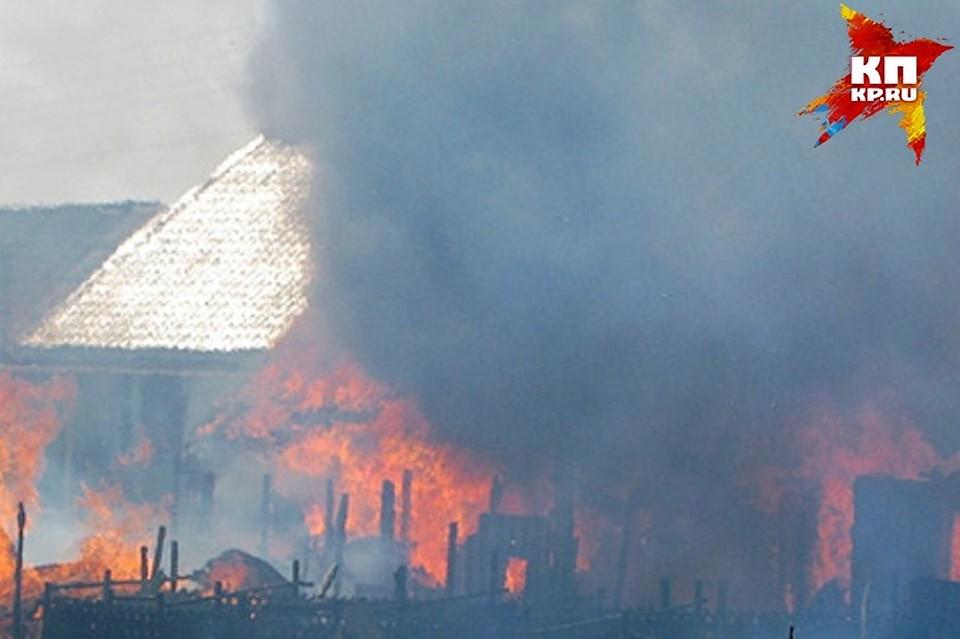 ВОбояни вовремя пожара погибла престарелая курянка
