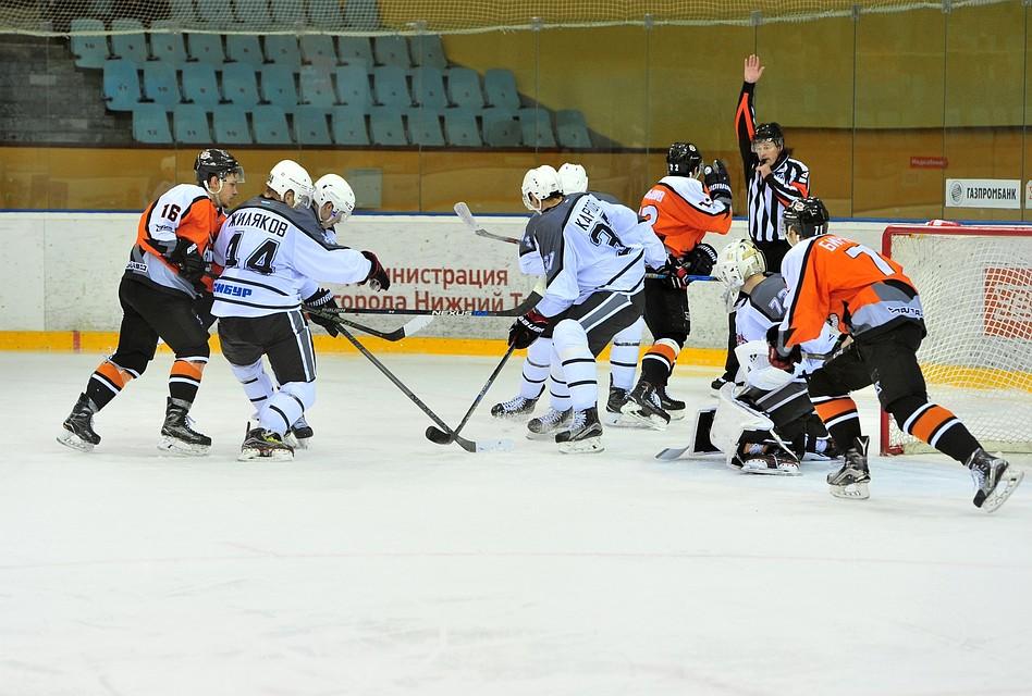 «Рубин» победил «Спутник» вНижнем Тагиле