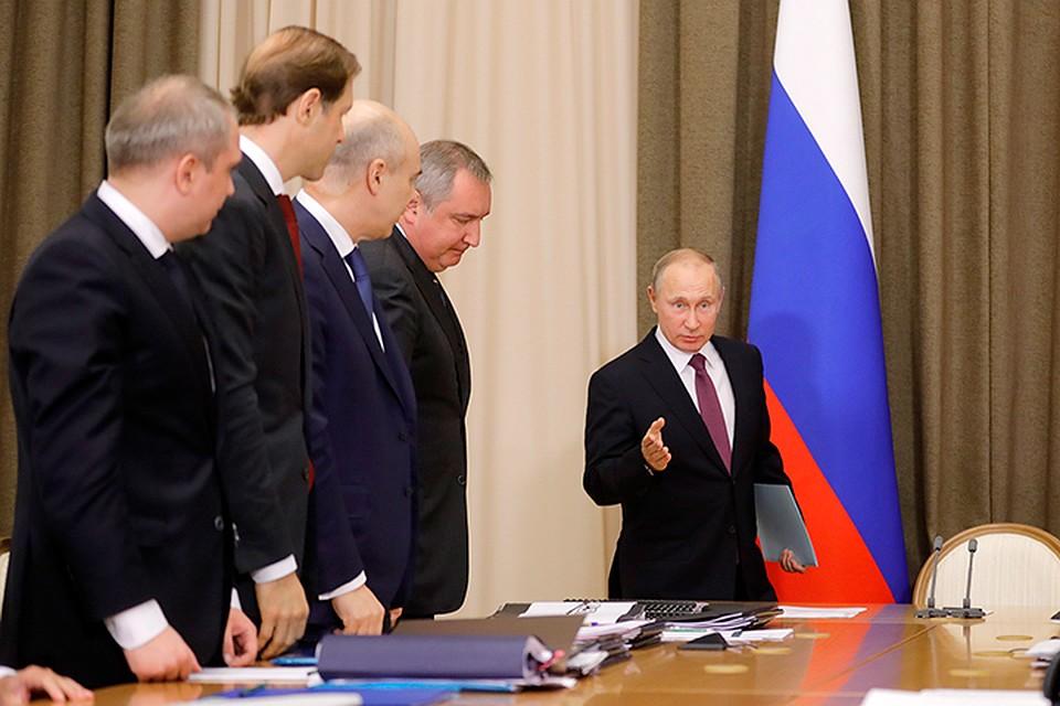 Путин: Армию ифлотРФ необходимо снабдить актуальным для нашего времени оружием