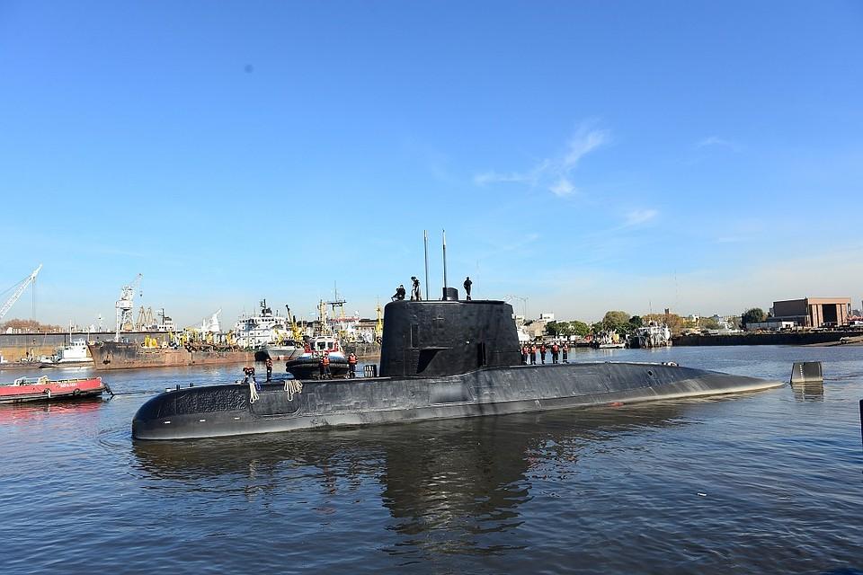 Российская Федерация направит вАргентину «Янтарь» для спасения исчезнувшей подлодки
