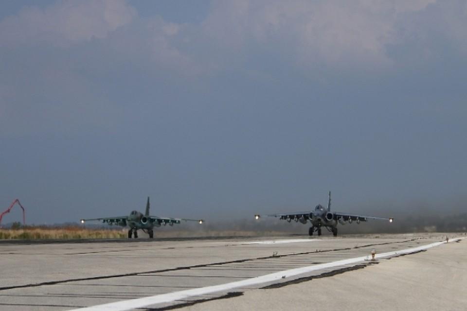 МинобороныРФ: ВКСРФ совершили около 530 военных вылетов занеделю