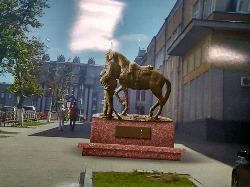 ВСамаре появится монумент гусару