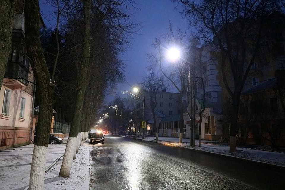 ВБрянске ссамого начала года осветили 69 улиц