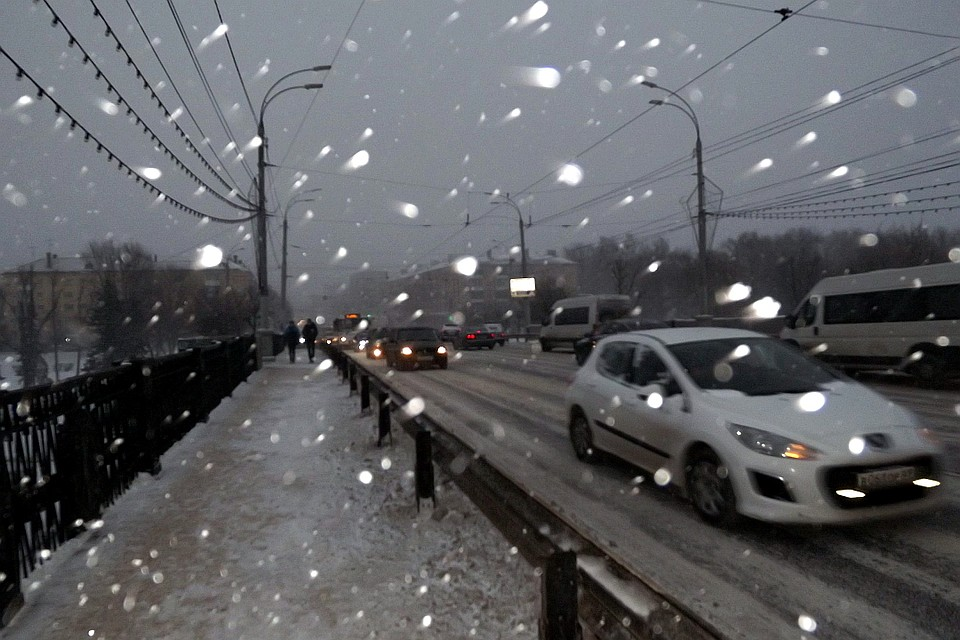 Граждан Тверской области предупреждают оснегопаде