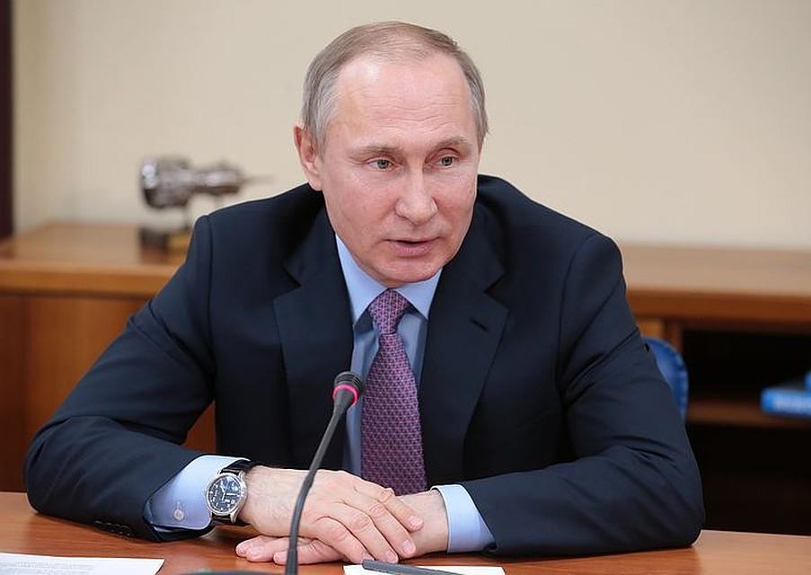 ВКремле поведали  оскором визите Путина  вЕгипет
