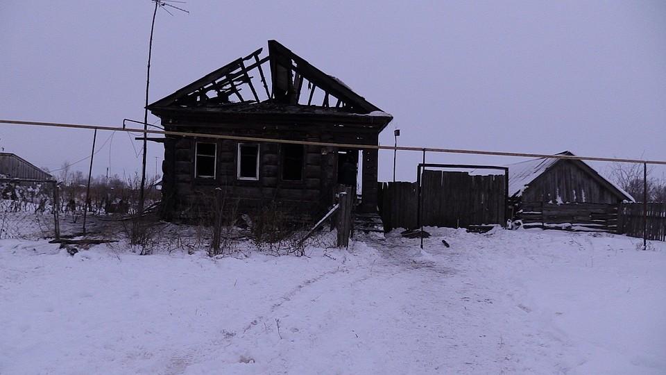 Вовремя пожара вУльяновской области погибли два человека