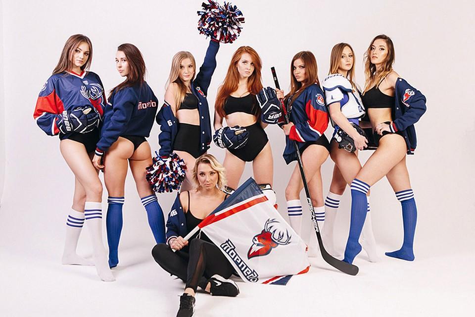 Череповчанки вышли вфинал конкурса самых красивых групп поддержки КХЛ