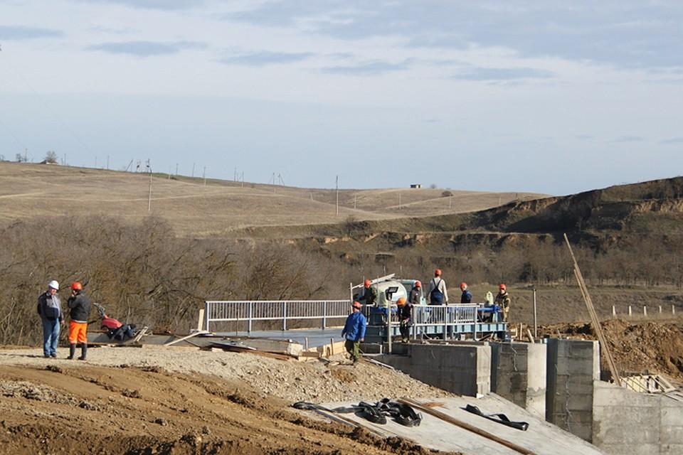 Реконструкцию Отказненского водохранилища наСтаврополье продлили до 2019г
