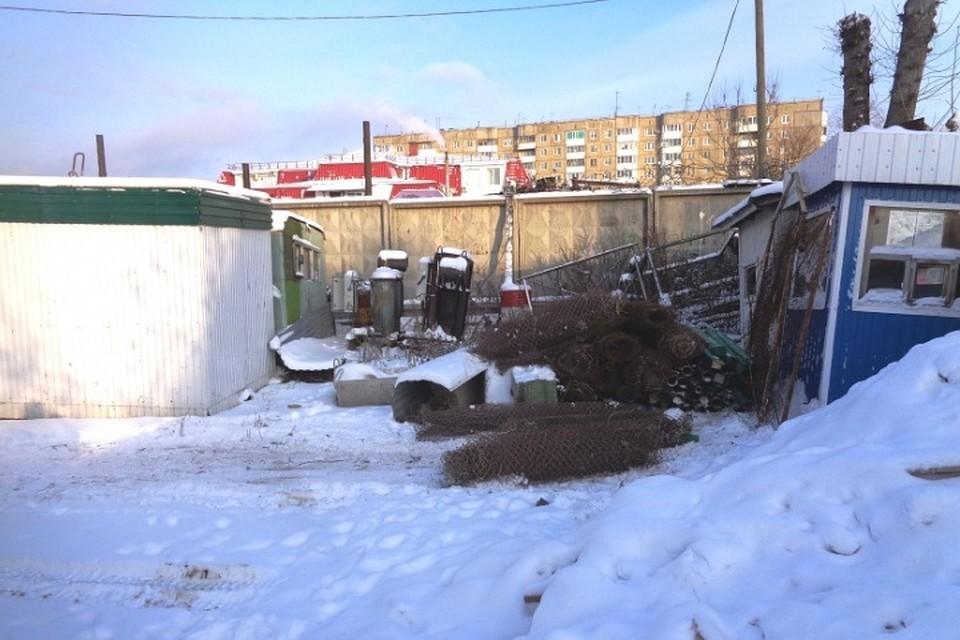 ВКировском районе Перми демонтировали нелегальные стоянки