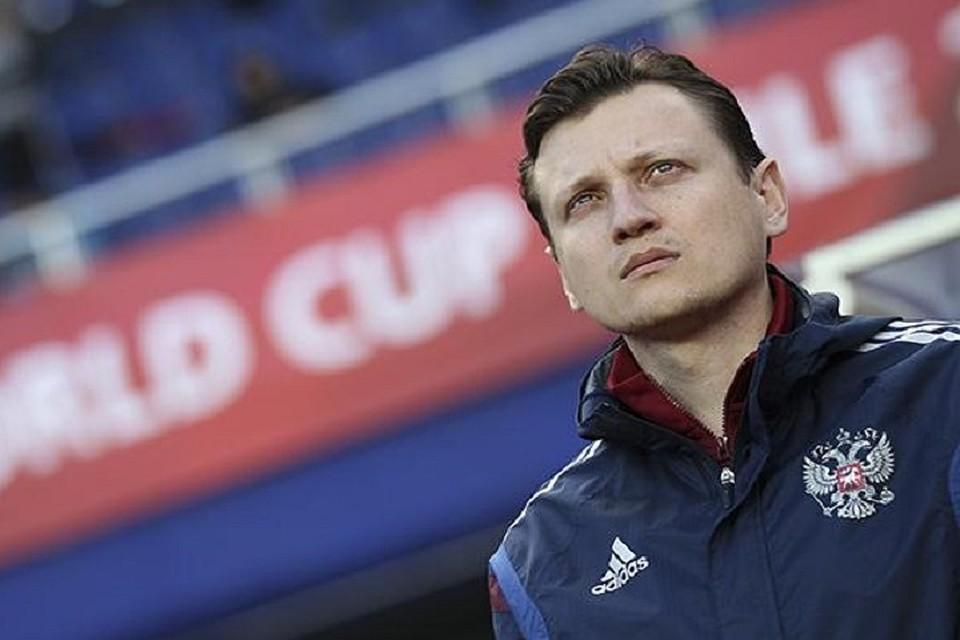 Галактионов назначен основным тренером «Ахмата»