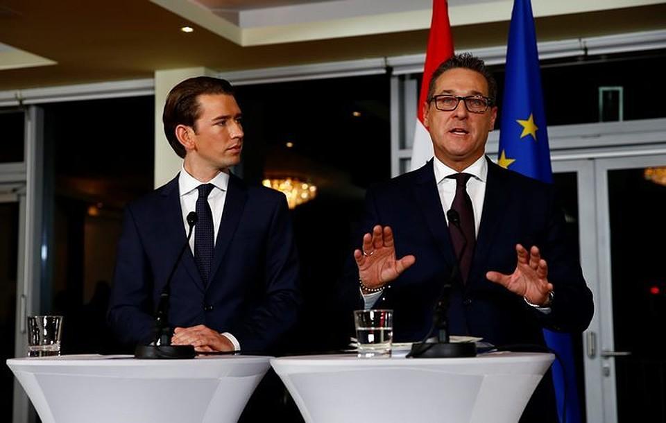 Новое руководство  Австрии заявило ожелании содействовать  снятию санкций сРФ