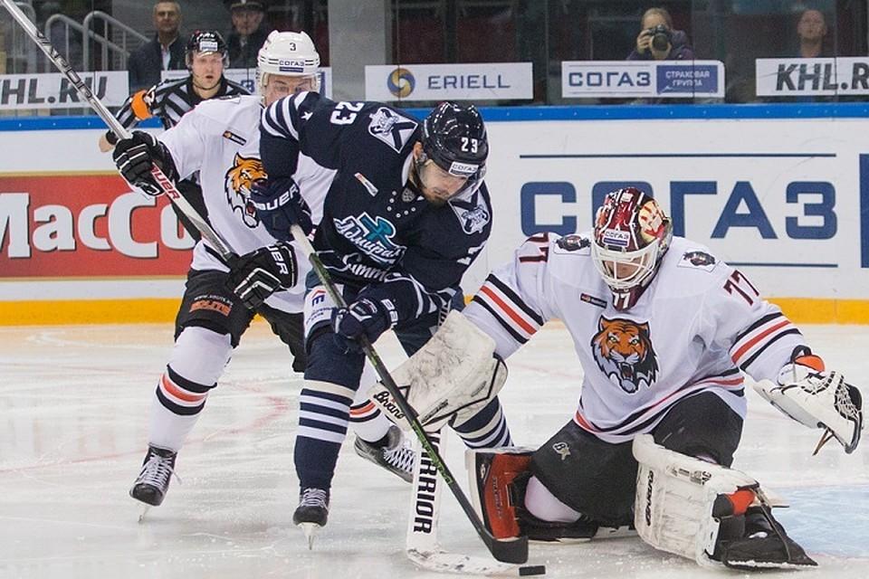 «Адмирал» воВладивостоке одержал победу ухабаровского «Амура»— КХЛ
