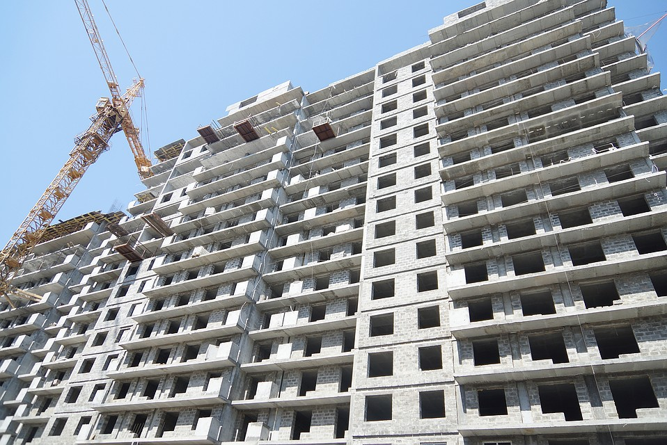 Строительство жилья вЕкатеринбурге уменьшилось на5%
