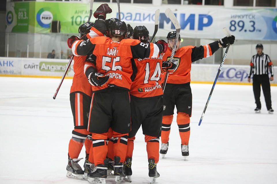 Ангарский «Ермак» победил «Молот-Прикамье» вдомашнем матче
