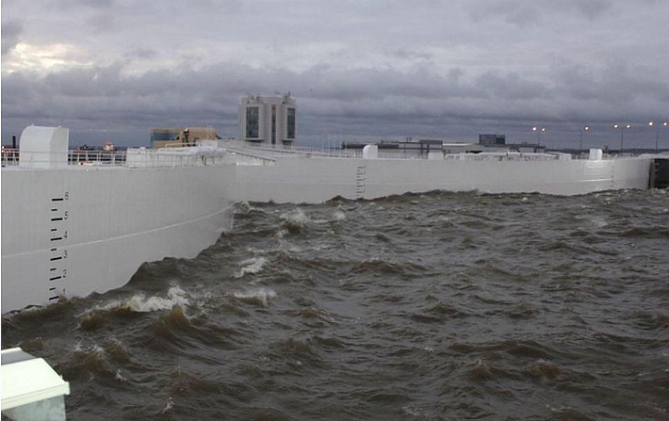 Петербургу вконце рабочей недели угрожает наводнение