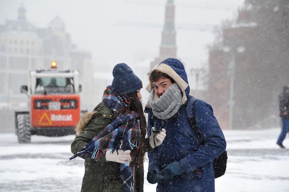 ВМЧС объявили экстренное предупреждение в российской столице из-за метели