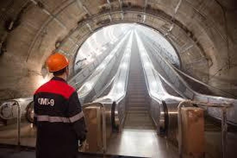 Три станции метро Петербурга сдадут вконце весеннего периода предстоящего года