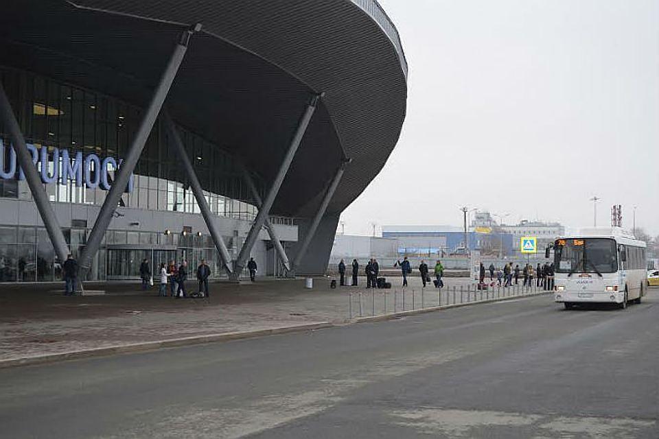 Поменялась схема движение транспорта унового терминала аэропорта Курумоч
