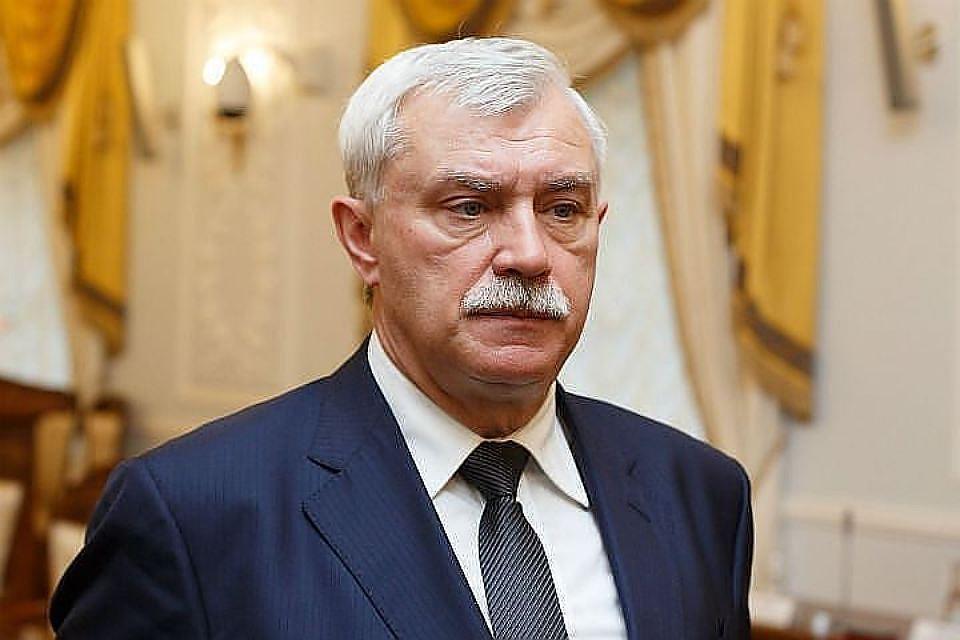 Губернатор Санкт Петербурга Георгий Полтавченко