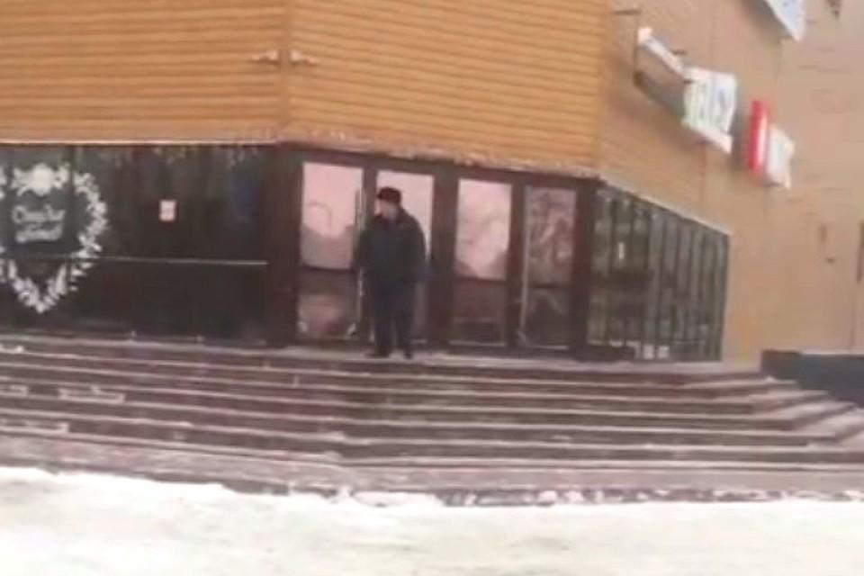 ВКемерове злоумышленники «заминировали» торговый центр