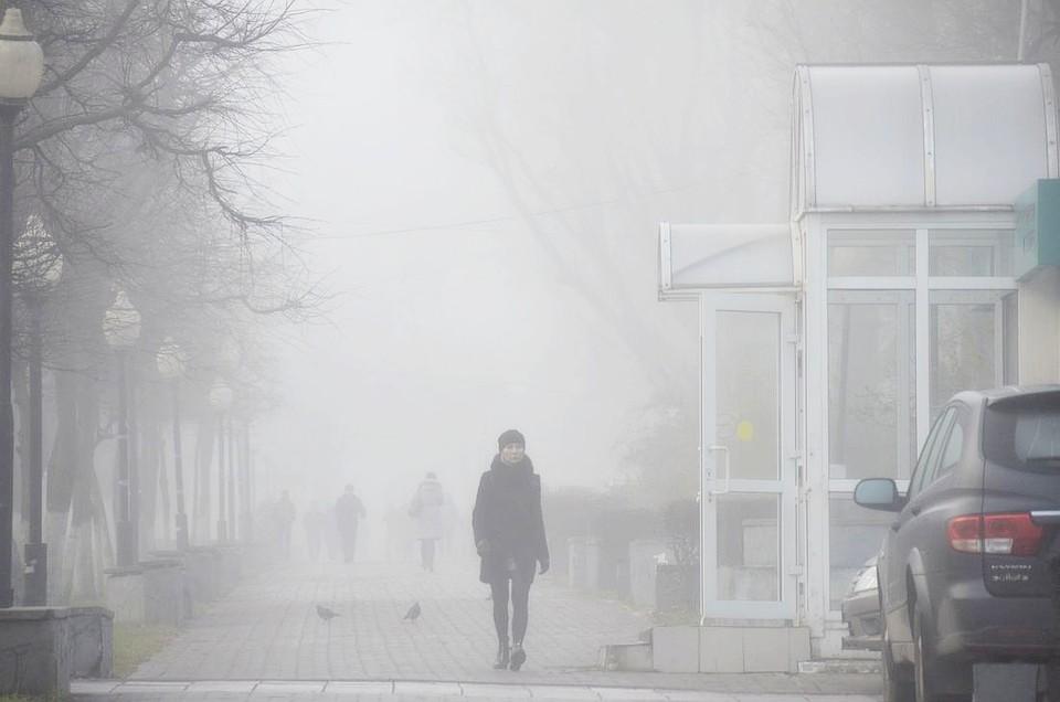 ВМЧС предупредили обухудшении видимости в столице из-за тумана 31декабря