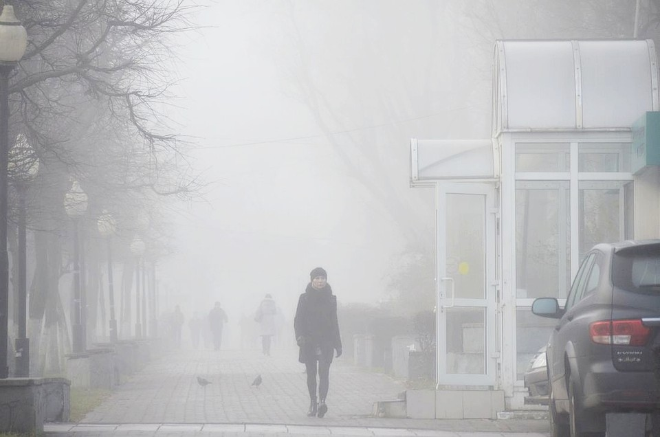 СтолицуРФ впредновогодний день накроет туман