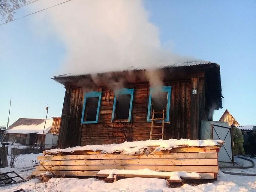 ВБашкирии всгоревшем доме найдено мужское тело