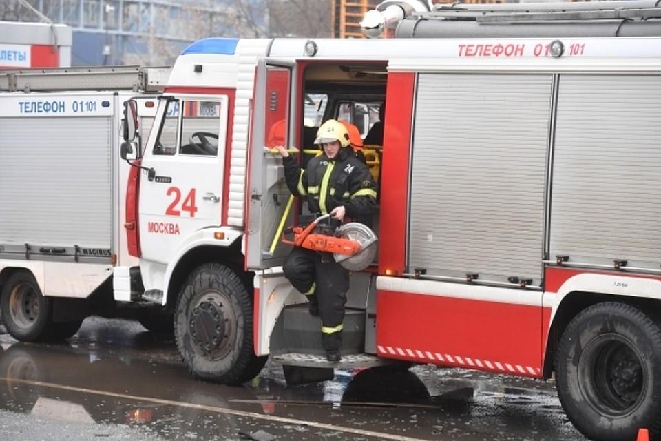 Пожар вресторане Extra Virgin вцентральной части Москвы ликвидирован