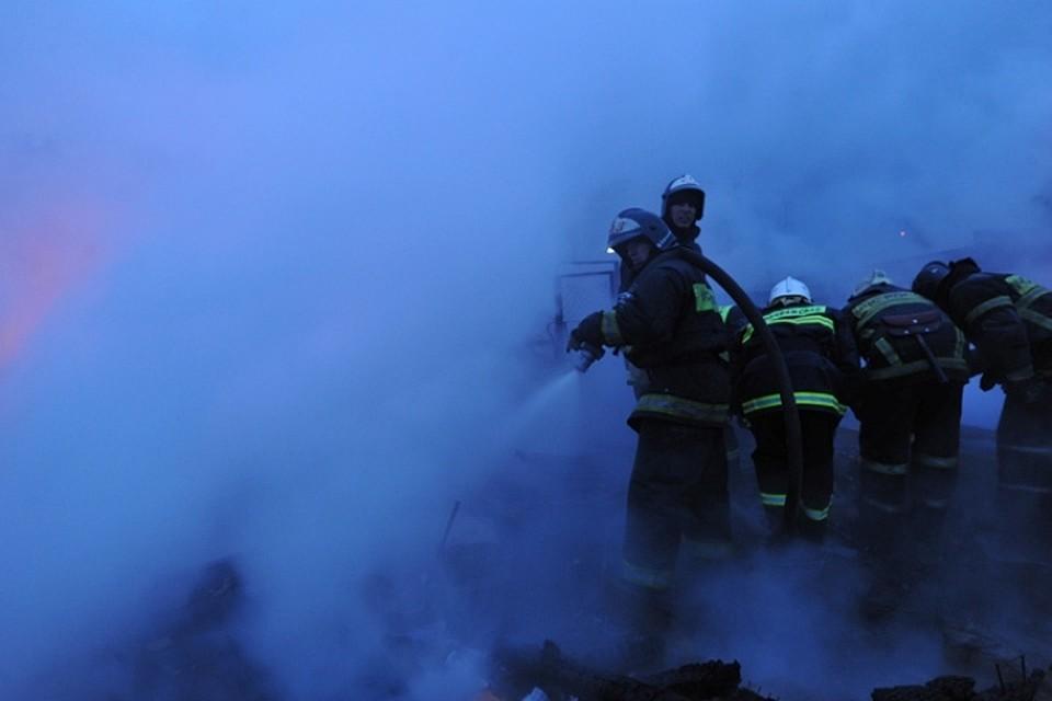 Пожар врождественскую ночь ликвидирован вцентральной части Москвы