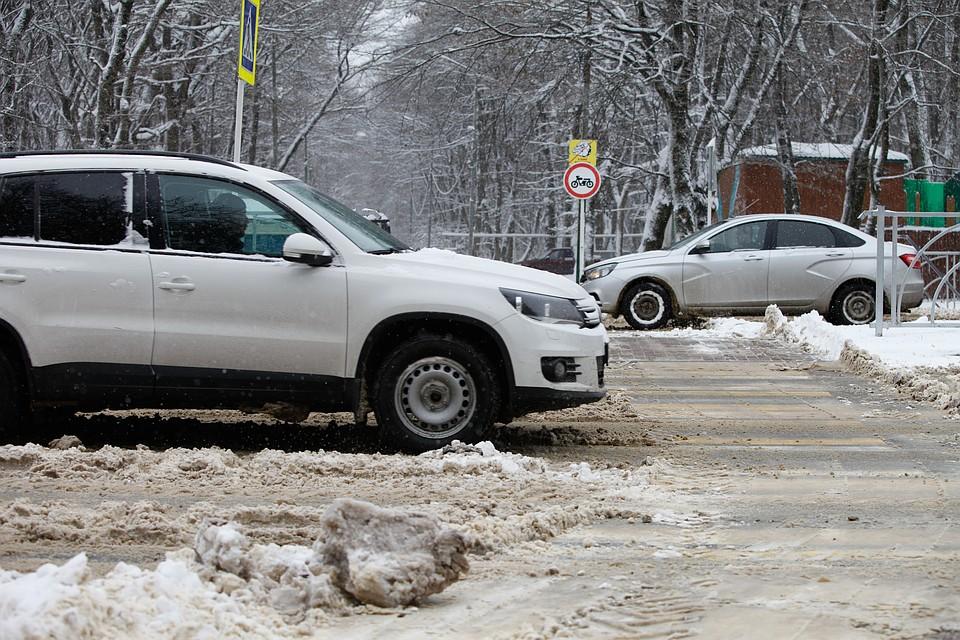 Движение научастке дороги наСтаврополье ограничено из-за непогоды