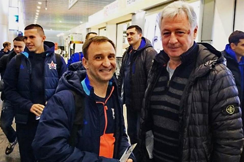 «СКА-Хабаровск» объявил оподписании договора сРинатом Билялетдиновым