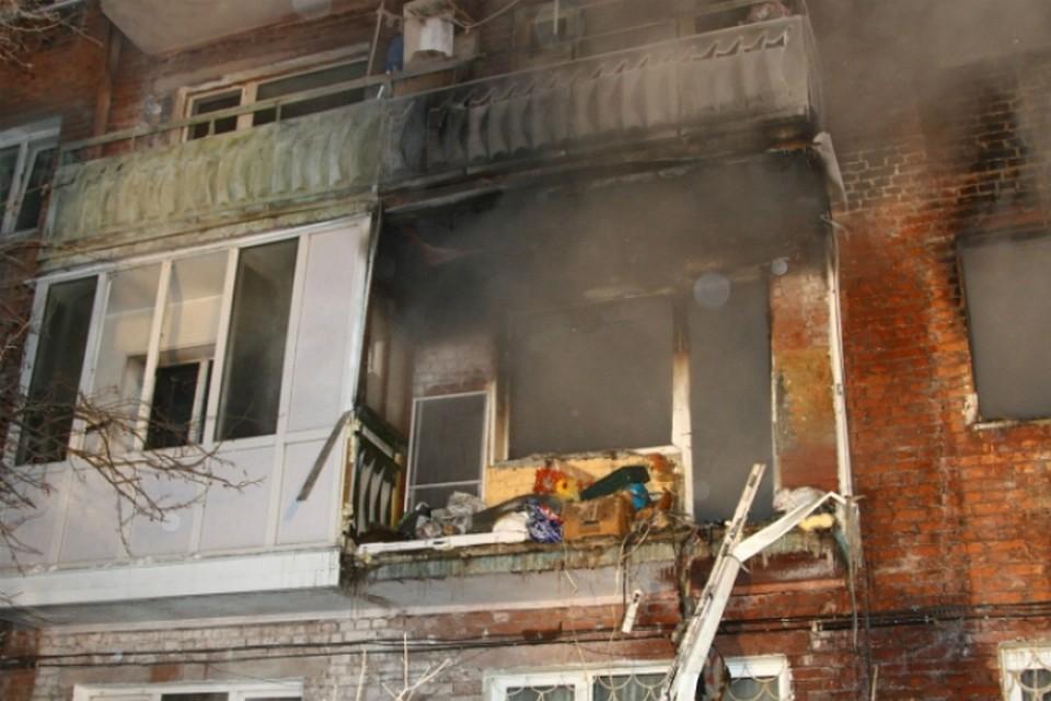 Члены омской семьи, пострадавшей отвзрыва газа, находятся вреанимации
