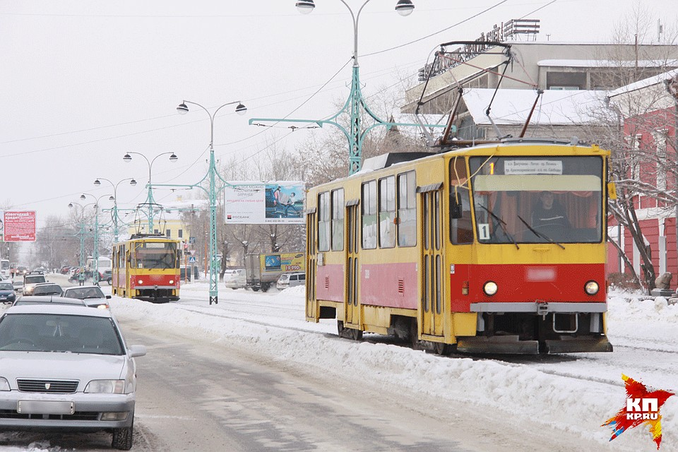 Вбарнаульском трамвайном депо №3 вовремя буксировки погибла женщина