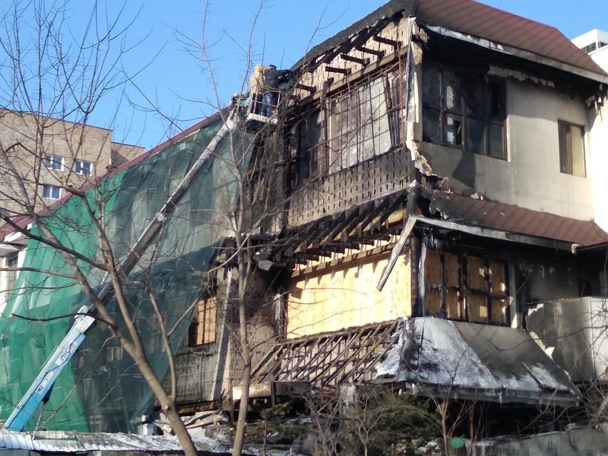 ВоВладивостоке задержали подозреваемого вподжоге супермаркета «Фреш 25»