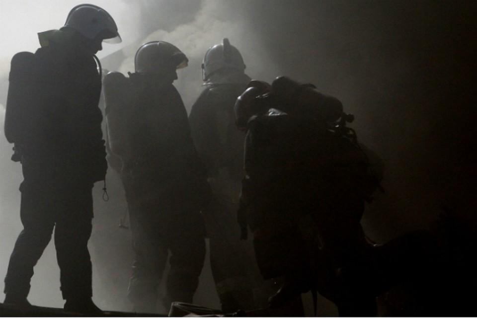 В итоге пожара вжилом доме вцентре столицы пострадали несколько человек