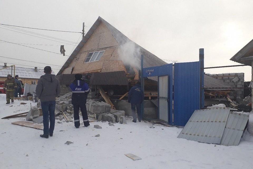 Свидетели проинформировали о взрыве бытового газа в личном доме под Челябинском
