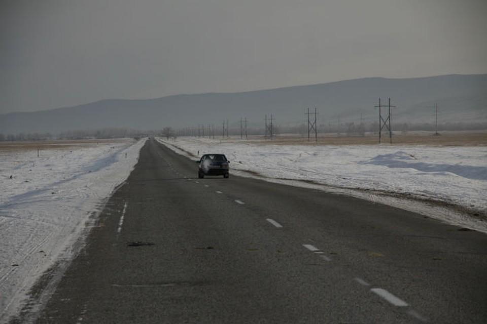 Нафедеральной трассе вСлюдянском районе сняли ограничение проезда