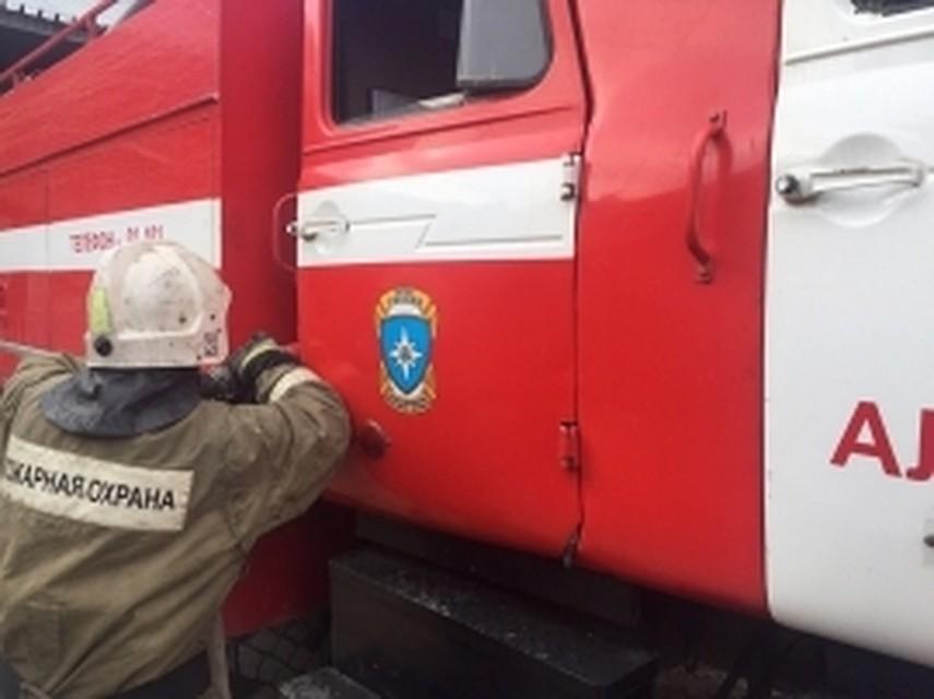 ВТуле загорелось сооружение областного роддома