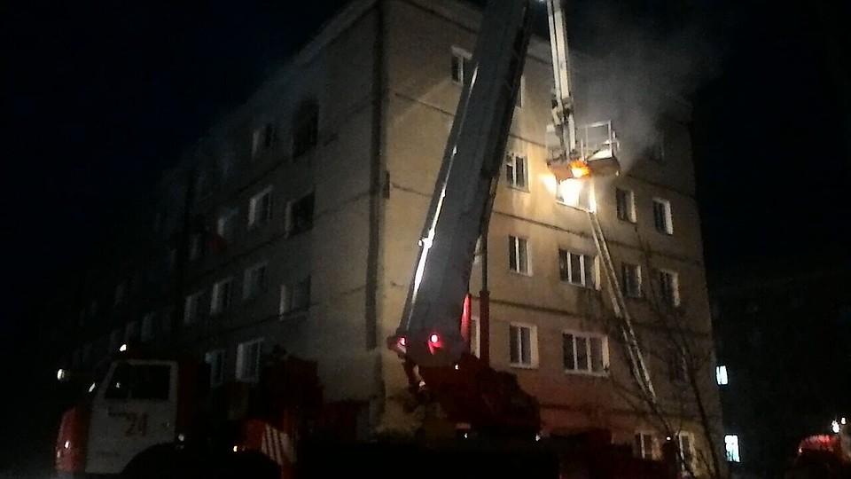 Впригороде Омска жертвами пожара вобщежитии стали 5 человек
