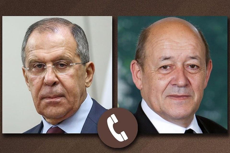 Лавров обсудил свфранцузским коллегой ситуацию вСирии