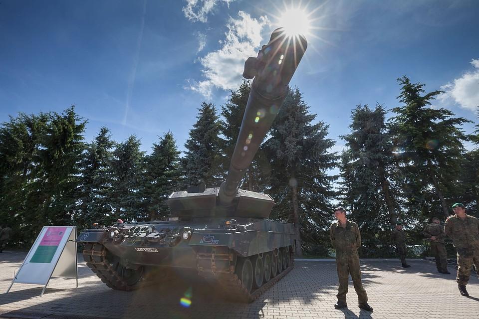 СМИ говорили о нехватке вФРГ танков для участия воперациях НАТО